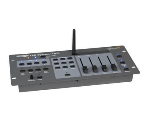 wireless akku dmx mixer