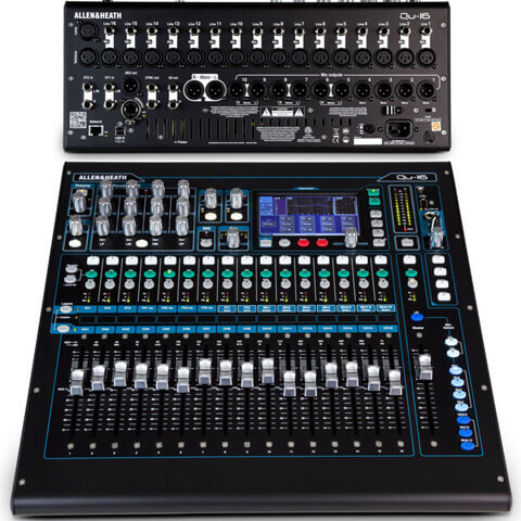 digitales 16 Kanal Mischpult - Allen & Heath QU-16
